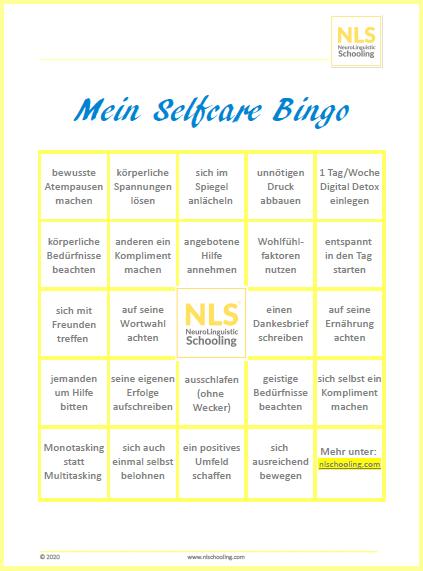selfcare-bingo